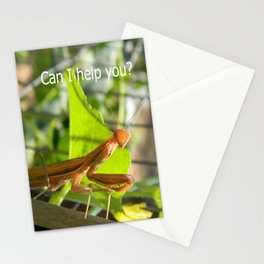 Can I help  you? Stationery Cards