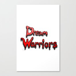 Dream warriors Canvas Print