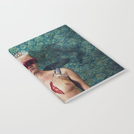 stitching wounds Notebook