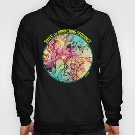 Enter the Branching Sequence - Pencil Sketch Illustration Hoody