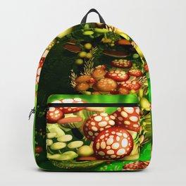 Mushroom dragon Backpack