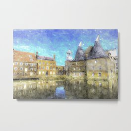 Three Mills Bow London Art Metal Print