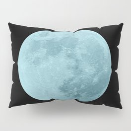 BLUE MOON // BLACK SKY Pillow Sham