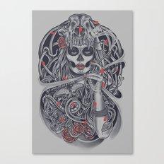 Madame Death Canvas Print