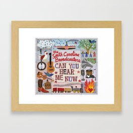 Can You Hear Me Now Framed Art Print