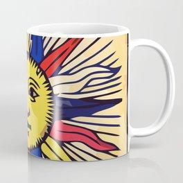 Le soleil Tarot card design Coffee Mug