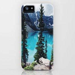 Lake Moraine Alberta iPhone Case