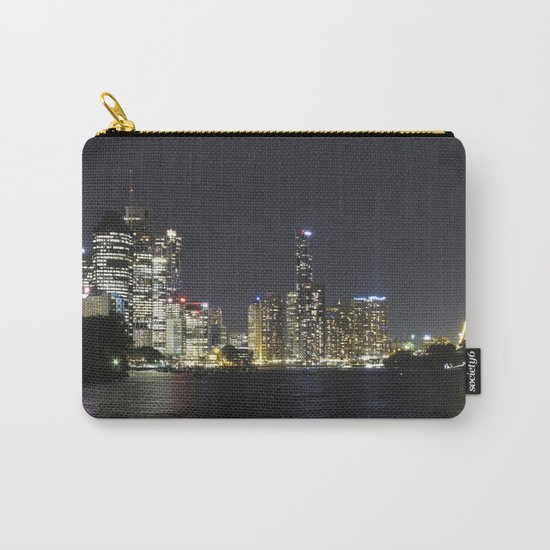 Brisbane by night Carry-All Pouch