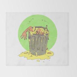 Scum Bucket Throw Blanket