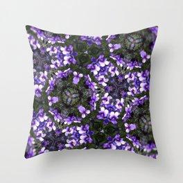 Flowerz Throw Pillow