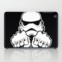dark side iPad Cases featuring Dark Side Knuckle by Don Calamari
