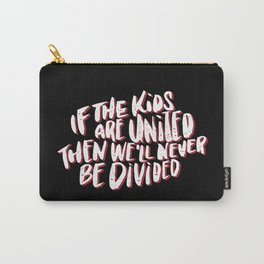 Kids United - Black Carry-All Pouch