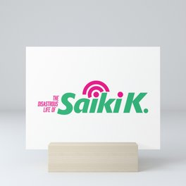 Saiki kusuo logo Mini Art Print