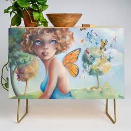 Amelia, Courage to Fly Credenza