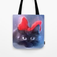witchcraft Tote Bags featuring Witchcraft by apofiss