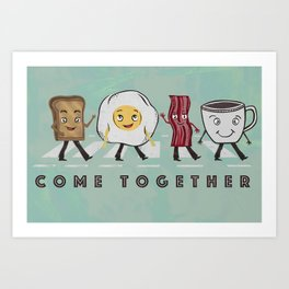 Come Together Art Print