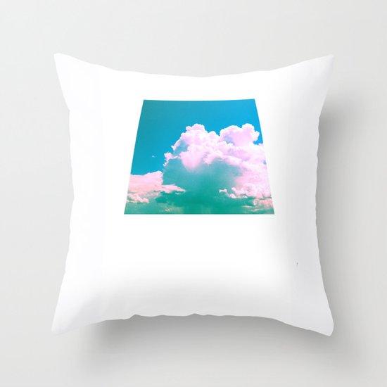 Cloudscape V Throw Pillow