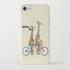 giraffe days lets tandem iPhone 7 Slim Case