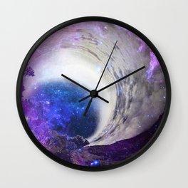 Infinite Galaxy Wall Clock