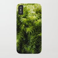 moss iPhone & iPod Cases featuring Moss by Michelle McConnell