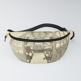 Antiquarian Greenhouse Fanny Pack