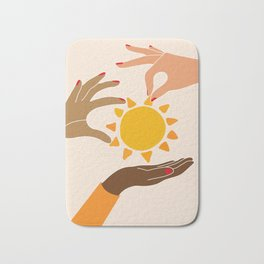 Our sun Bath Mat