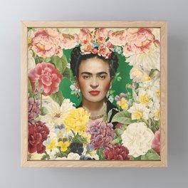 Frida Kahlo IV Framed Mini Art Print