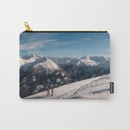 Skiing in the Alps Carry-All Pouch