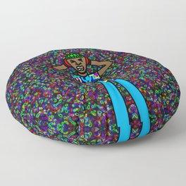 Pulsating Trip Floor Pillow