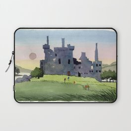 Kilchurn Castle, Scottish Highlands Laptop Sleeve