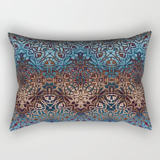 Ethnic Tribal Pattern G329 Rectangular Pillow
