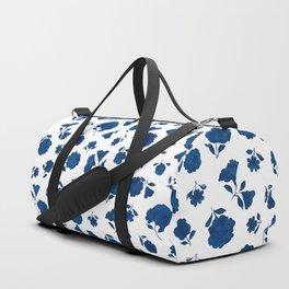 Medium Indigo Shadow Bloom Duffle Bag