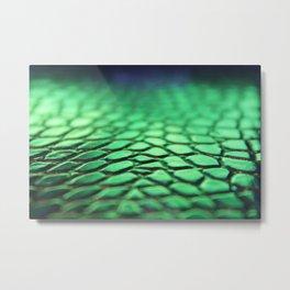 Green Skin Metal Print
