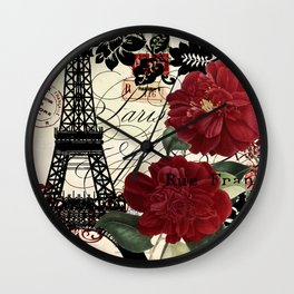 Parisienne Wall Clock