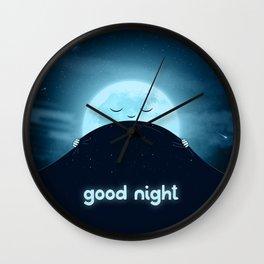 Good Night Sky Wall Clock