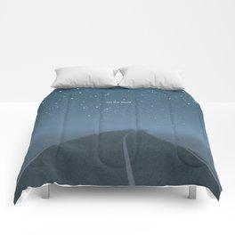 "Jack Kerouac ""On the Road"" - Minimalist literary art design, bookish gift Comforters"