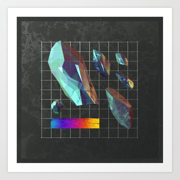 Crystalmatrix Art Print