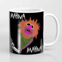 muppet Mugs featuring Mahna Mahna....great Muppet! by Linda V.