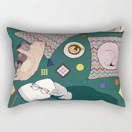Hygge Kitten Rectangular Pillow