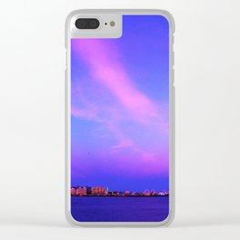 Atlantic Ocean Waves Clear iPhone Case