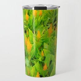 Field of Celosia Travel Mug