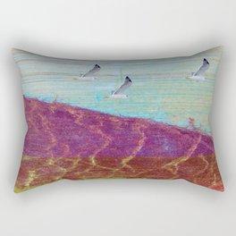 lavender hill Rectangular Pillow