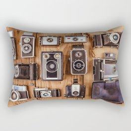 Photographer's History Rectangular Pillow