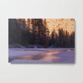 Daydreaming at Castle Lake Northern California Metal Print