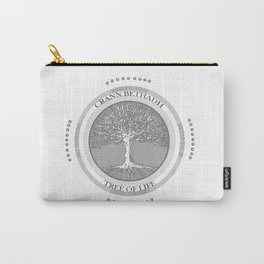 Tree of life (white) Carry-All Pouch