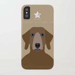 Pointer iPhone Case