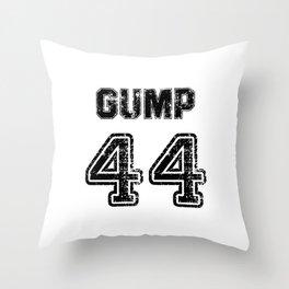Gump. Football clothes Throw Pillow