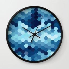 Hexazure Wall Clock