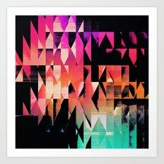 symmyr glyss Art Print