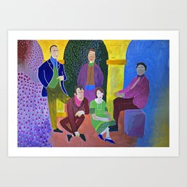 Algonquin Round Table Art Print